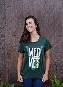 Camisa Medicina Veterinária - Se Correr o Bicho Pega - Premium