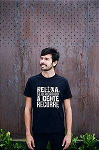 Camisa Direito- Tem jeito pra tudo - Preta - Basic