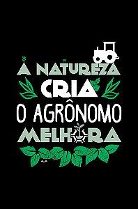 Camisa Agronomia - Agrolife - Preta - Basic