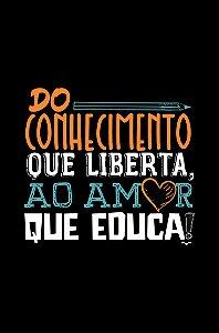 Camisa Pedagogia - A solução - Preta - Basic