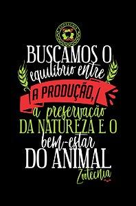 Camisa Zootecnia - Ponto de Equilíbrio - Preta - Basic