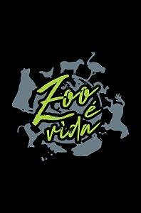 Camisa Zootecnia - Zoo é vida - Preta - Basic