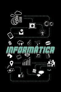 Camisa Universitária Ciências da Computação - Conectados - Preta - Basic