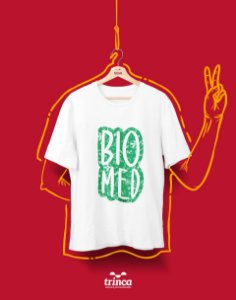 Camiseta Universitária - Biomedicina - Bioelementos - Basic