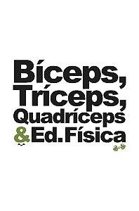 Camisa Universitária Educação Física - Miologia - Branca - Basic