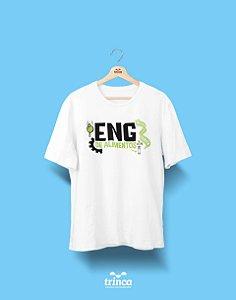 Camisa Universitária Engenharia de Alimentos - Chama na Maçãzinha - Basic
