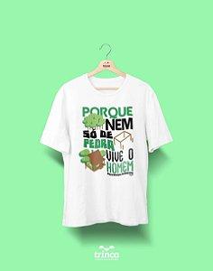 Camisa Universitária Engenharia Florestal - É pau é pedra - Basic