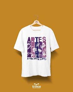 Camisa Universitária Artes - Ou a arte imita a vida? - Basic
