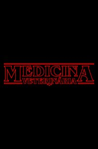 Camisa Universitária Medicina Veterinária - Stranger Things  - Basic