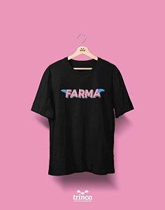 Camisa Universitária Farmácia - Voe Alto - Basic
