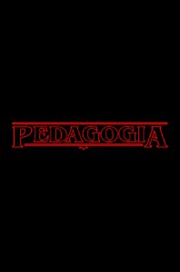 Camisa Universitária Pedagogia - Stranger Things - Preta - Basic