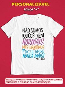 Camisa Universitária - Personalizável - Será? - Branca - Basic