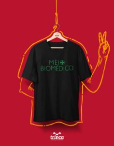 Camiseta Universitária - Biomedicina- Biomeio - Basic