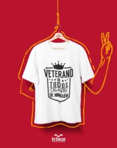 Camiseta Universitária - Veterano da P toda - Basic