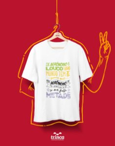 Camiseta Universitária - Agronomia - Agrolouco - Basic