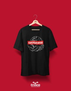 Camiseta Universitária - Geografia - Supreme - Basic