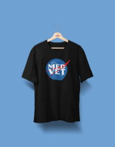 Camiseta Universitária - Medicina Veterinária - NASA - Basic