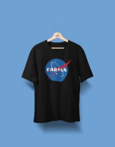 Camiseta Universitária - Farmácia - NASA - Basic