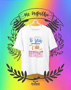 Camiseta Personalizada - Tão Demodê - Me Orgulho - Basic