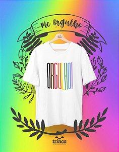 Camiseta Personalizada - Orgulho - Me Orgulho - Basic