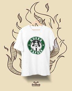 Camiseta Personalizada - Café - Quero Cafééé - Basic