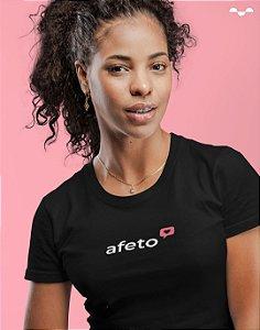 Camiseta - Coleção Vai com C(alma) - Afeto - Basic