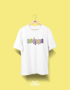 Camiseta Universitária - Medicina - 90's- Basic