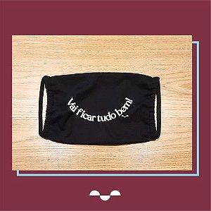 Máscara de Proteção Individual - Estampa 07  - (100% algodão - Reutilizável - Lavável)