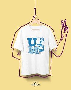 Camiseta - Coleção Sou Federal - UFMS - Basic