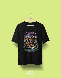 Camisa Universitária Nutrição - Pode confiar - Basic