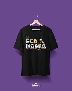 Camisa Universitária Economia - Quem me dera - Basic