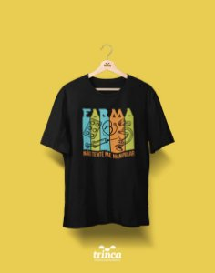 Camisa Universitária Farmácia - Nem vem - Basic