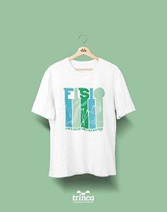 Camisa Universitária Fisioterapia - É fato - Basic