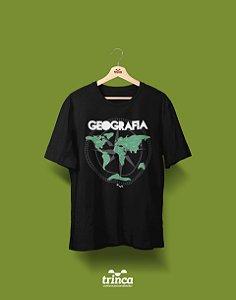 Camisa Universitária Geografia - Geomundo - Basic