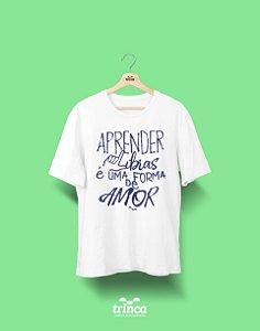 Camisa Universitária Libras - Sinais - Basic