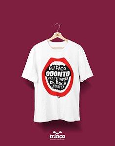 Camisa Universitária Odontologia - Boquiaberto - Basic