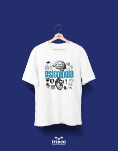 Camisa Universitária Psicologia - Quem irá dizer! - Basic