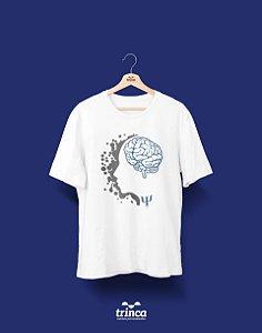 Camisa Universitária Psicologia - Eu, Eu Mesmo e... - Basic