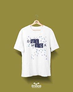 Camisa Universitária Química - Rolou uma Química - Básica