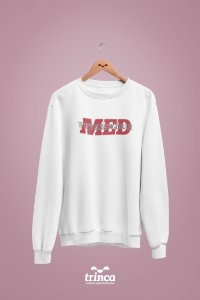 Moletom Básico (Flanelado) - Medicina Veterinária - Outline