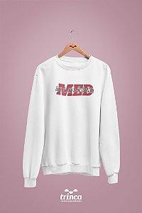 Moletom Básico (Flanelado) - Medicina - Outline