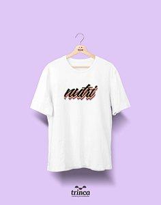 Camiseta - Coleção Grafite - Nutrição - Basic