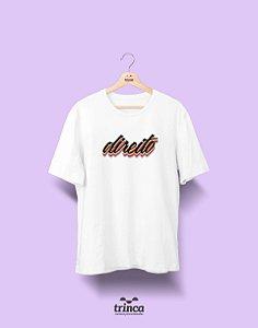 Camiseta - Coleção Grafite - Direito - Basic