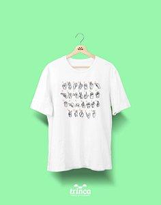 Camisa Universitária Libras - Alfabeto - Basic