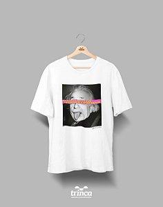Camiseta - Coleção Imortais - Albert Einstein - Basic