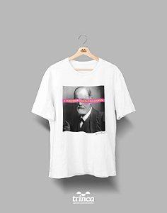 Camiseta - Coleção Imortais - Sigmund Freud - Basic