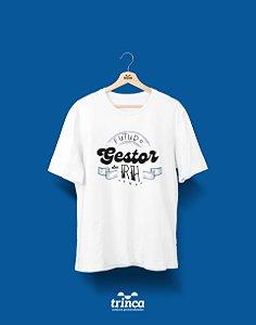 Camisa Universitária Recursos Humanos - Pensando à frente (gestor) - Basic