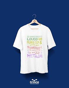 Camisa Universitária Administração - Meio ADM - Basic