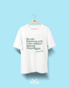 Camisa Universitária Biomedicina - Sem suspeitas - Basic