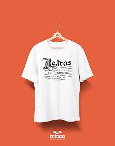 Camisa Universitária Letras - Capitular - Basic